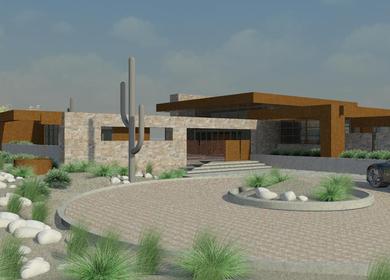Desert H House