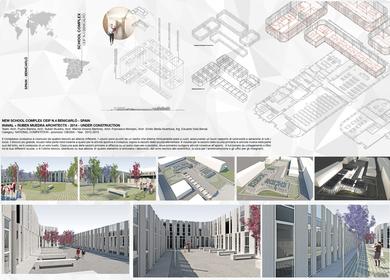 New School Complex in Benicarlò - Spain
