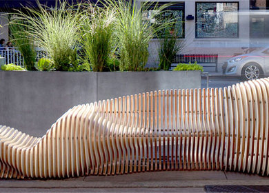 The Wave - Chicago People Spot - Parklet 2013