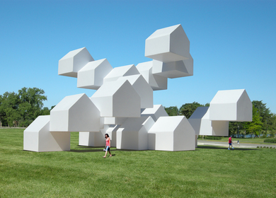 The Modular House Pavilion (A public art installation)