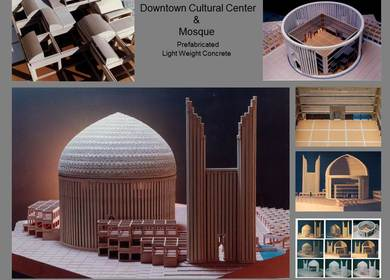 Downtown Mobarakeh Cultural Center & Mosque