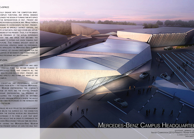 Mercedes Benz Museum Headquarters
