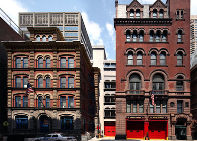 Combined Police & Fire Facility, New York, New York
