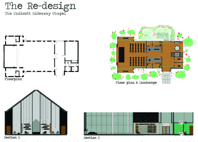 Ryan tirrell archinect for Endicott college interior design