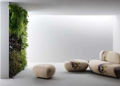 Sofa 'BOTAN' by Benedetta Tagliabue for Passoni Nature