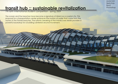 Transit Hub - Sustainable Revitalization