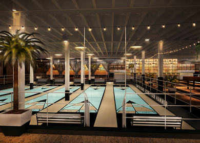 The Royal Palms Shufflboard Club