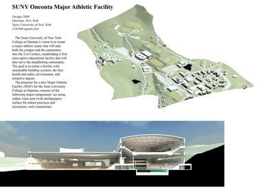 SUNY Oneonta Major Athletic Facility