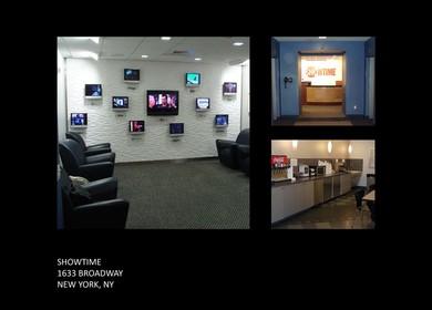 1633 Broadway, NY, Showtime