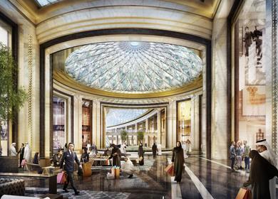RTKL project | Riyadh Shopping Mall, Kuwait