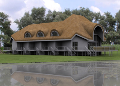 Danube Delta – Small Hotel Architecture Project