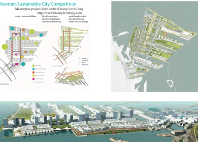 Nordhavnen, Sustainable City Competition_done under Khoury Levit Fong