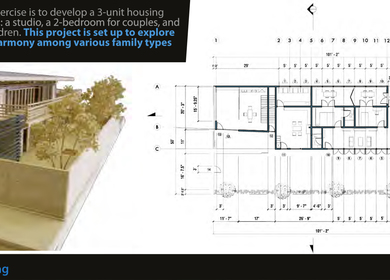 3 Units Housing
