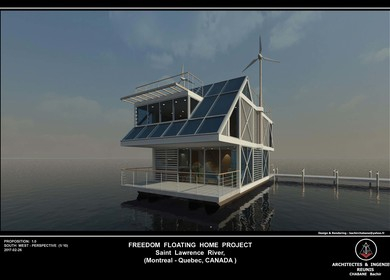 Floating House Case Study : A - 1
