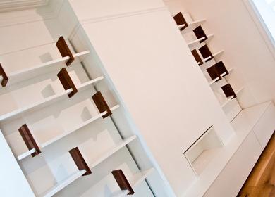 Dancing Bookshelves