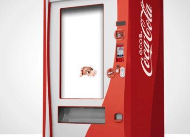 "Coca Cola ""Happiness"" Machine"