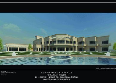 Ajaman Beach Palace, Ajaman, United Arab of Emirates