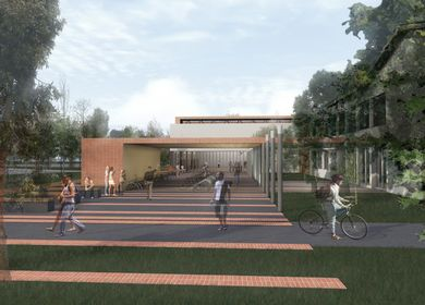 SPORT FACILITIES FOR THE PURPOSE OF SECONDARY MEDICAL AND BIOTECHNICAL SCHOOL RAKICAN