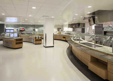 Los Angeles Federal Building Cafeteria Remodel LEED GOLD