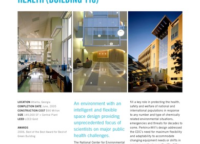 Centers for Disease Control and Prevention (CDC) National Center for Environmental Health - Building 110