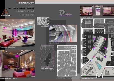 Hospitality - Boutique Hotel Design for Delizia Hotel(s)