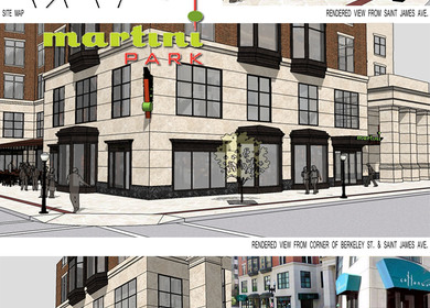 Martini Park Design Concept