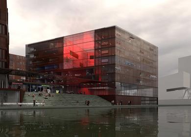 Magdeburger Hafen, HafenCity Hamburg