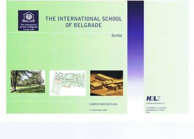 H2L2,(Master Plan) Belgrade ,Serbia, International School of Belgrade