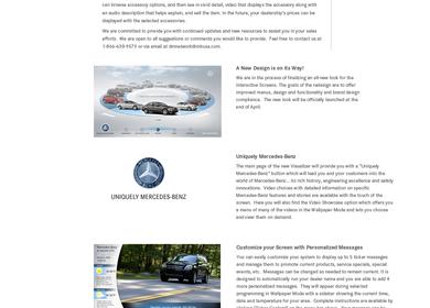 web layout
