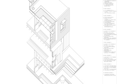 Connibear Shell House Construction Axonometric Drawing