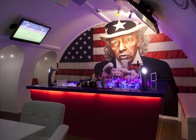 VIP Lounge at Sports Bar in Stockholm