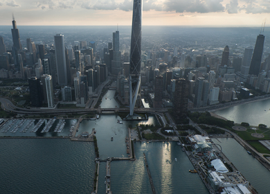 Chicago Gateway Tower by Gensler