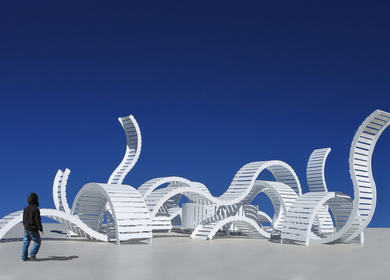 Serpentine, a public sculpture proposal