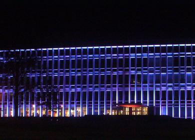 Hunt Library Lighting