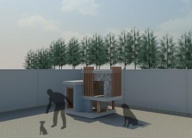 Designer Dog House