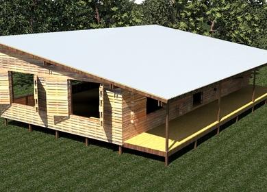 Pallet Pavilion