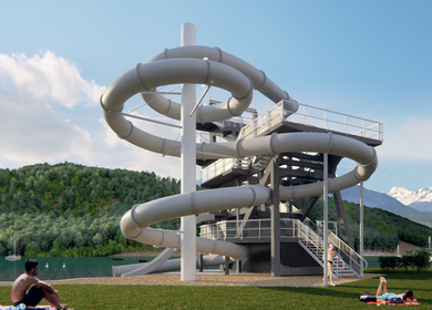 Slide Tower Millstatt