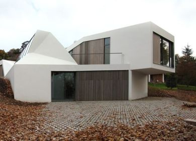 completed house and atelier in Asturias