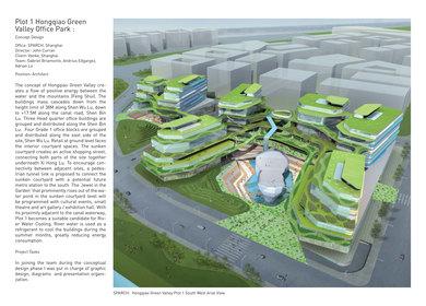 Plot 1 Hongqiao Green Valley Office Park