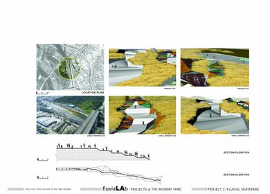 Fluvial Lab: Midway Yard Skatepark