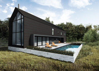 RUSTIC MODERN VACATION HOME