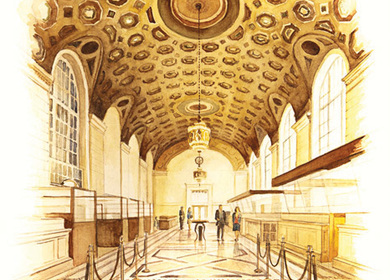The Brooklyn Company Trust Lobby