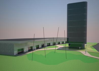 Administrativ building