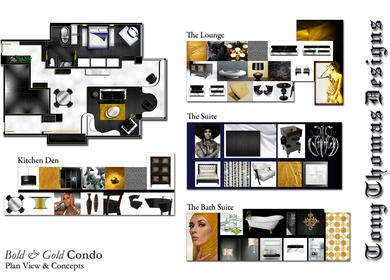 THE BOLD & GOLD CONDO