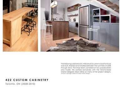 422 CUSTOM CABINETRY (2008-2010)