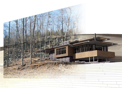 Rock Slide House