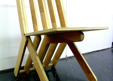 CNC Milled Chair