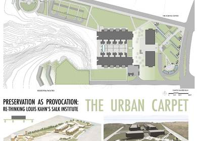 The Urban Carpet: An Addition to the Salk Institute