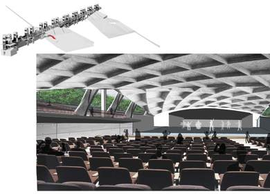 MUSIC CENTER - Rendering