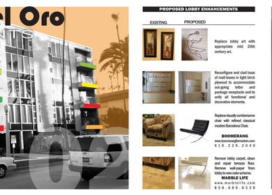 Restoration/Remodel Proposal (Playa Del Oro Apartments)